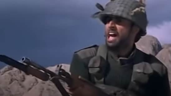 Abhishek Bachchan in L.O.C Kargil.