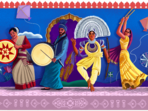 Independence Day 2021: Google doodle celebrating India's rich cultural tradition(Google Photo)