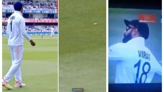 VIDEO: Crowd hurl bottle corks near Rahul, Kohli signals him to throw it back