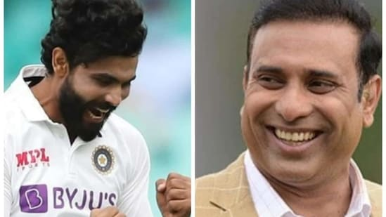 'For me, Jadeja will be No. 3 after those two': Laxman rates India cricketer as world's third-best Test all-rounder(HT Collage)