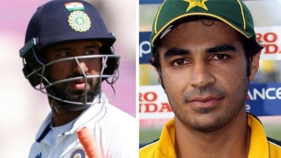 India vs England: 'India can give him a chance'- Pakistan's Salman Butt names Cheteshwar Pujara's possible replacement(AGENCIES/HT Collage)
