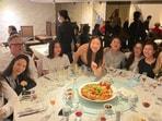 Priyanka Chopra Jonas dining out with her friends in London.