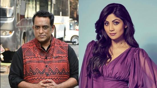 Actor Shilpa Shetty Kundra and Anurag Basu judge the kids reality show, Super Dancer.