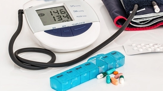 Control your blood pressure and blood sugar levels: High blood pressure is known to be a silent killer. It affects your heart without exhibiting any major symptoms. Diabetes can also affect your blood vessels and nerves that control your heart. It's better to keep these villains in check.(Pixabay)