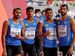 India's 4x400m men's relay team