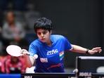 Indian table tennis player Archana Kamath(Twitter)