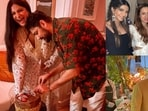 Rhea Kapoor and Karan Boolani's wedding party was attended by many family members and friends.