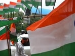 The principal of a primary school in Ballia (UP), has been suspended for allegedly not following norms for hoisting the national flag on Independence Day, officials said on Tuesday. (Representative image)(Raj K Raj/HT PHOTO)