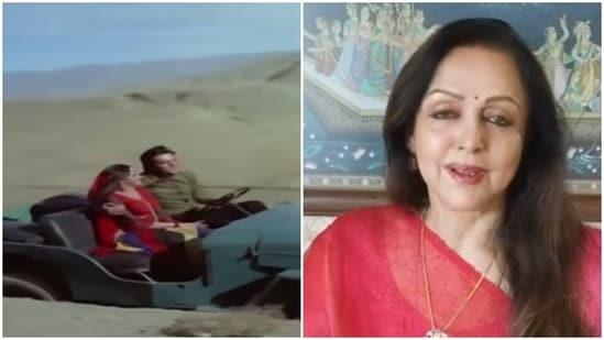 Hema Malini worked with Feroz Khan in Dharmatma.
