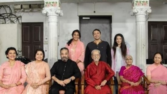 Kamal Haasan's ancestral home in Chennai is over 60 years old.
