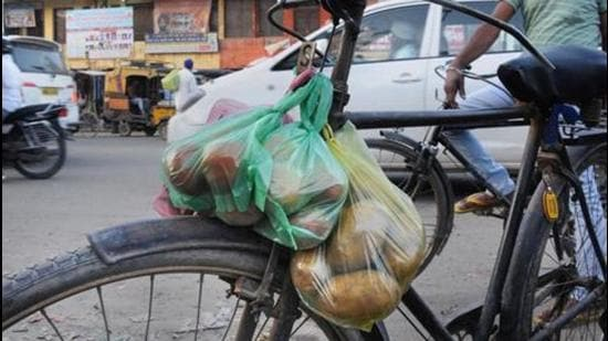 The Plastic Waste Management Amendment Rules says the permitted thickness of plastic bags, currently 50 microns, will be increased to 75 microns from September 30 this year and to 120 microns from December 31, 2022 (PTI)