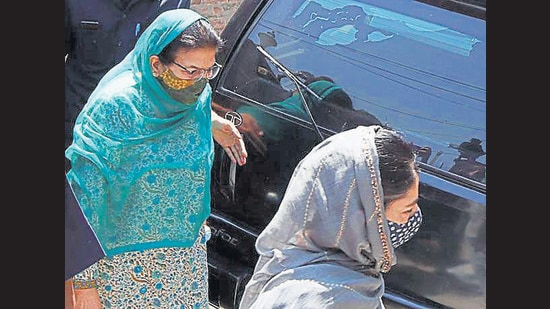 The ED had been issuing summons to Nazir, wife of the former J&K chief minister late Mufti Mohammad Sayeed, since April but she had so far avoided visiting the ED (Imran Nissar)