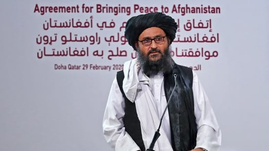 Mullah Abdul Ghani Baradar is the deputy leader of the Taliban and is likely to be the new president of the country. (AFP)