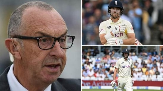 David lloyd unhappy with England's top-order (HT Collage)