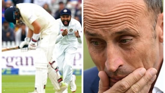 'They desperately need others to score runs': Nasser Hussain says 'England can't win Tests with just Root getting runs'(Agencies/HT Collage)