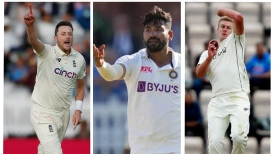 'Not in the same league as Mohammed Siraj': Salman Butt draws comparison, names pacer who 'might not be as effective' in away Tests(Agencies/HT Collage)
