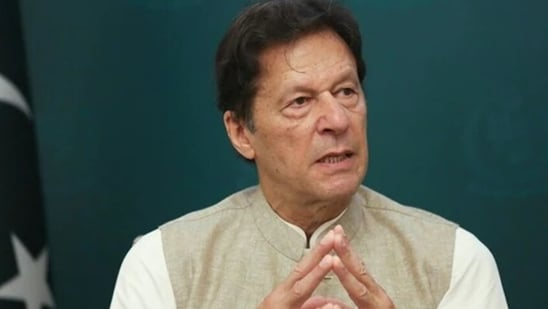 """Imran Khan has termed the Taliban takeover as """"breaking the chains of slavery"""".(HT_PRINT)"""