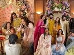 Sonam Kapoor, Arjun Kapoor, Khushi Kapoor, Shanaya Kapoor and other family members attend Antara Motiwala Marwah's baby shower.