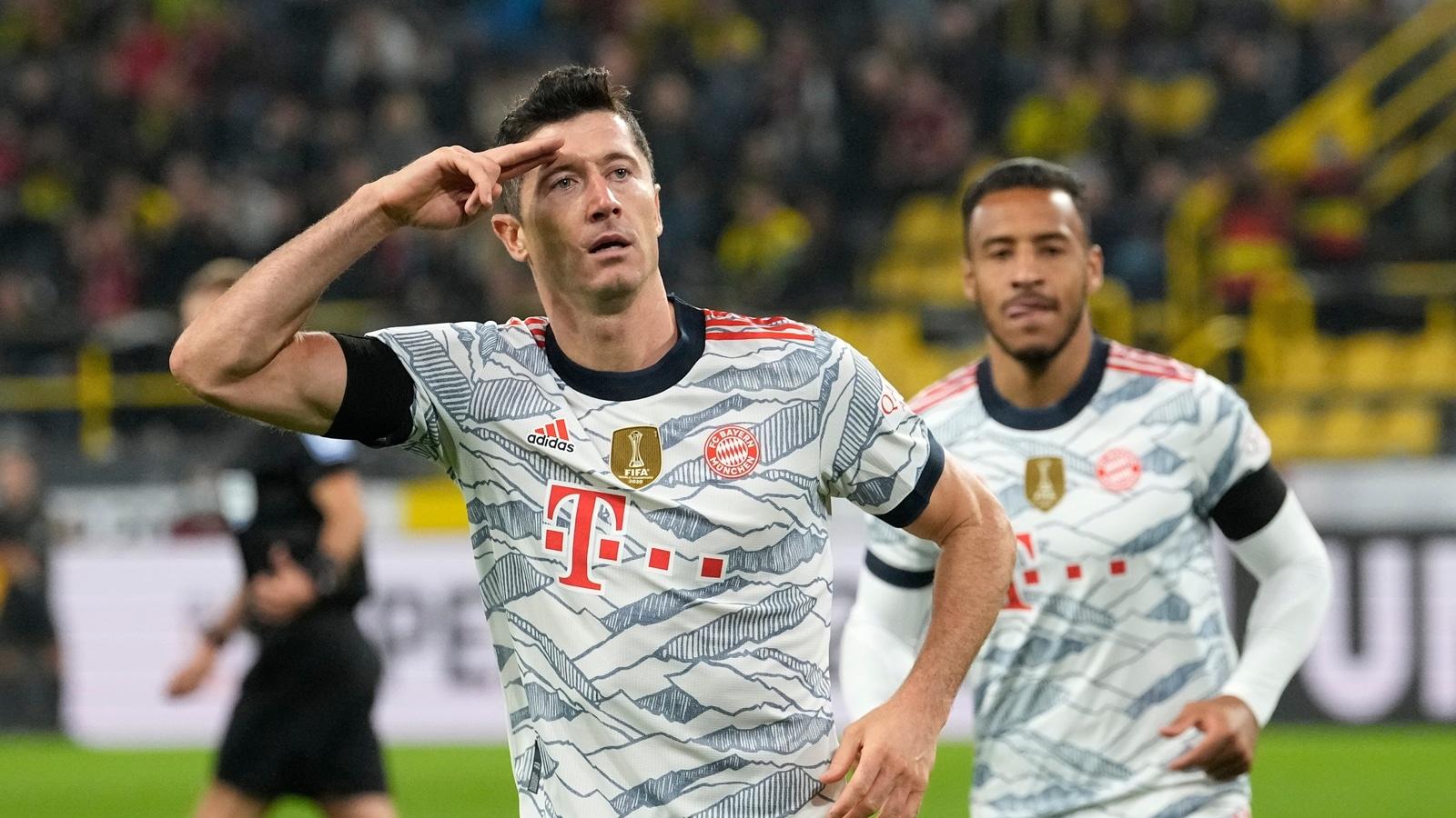 Lewandowski leads Bayern to German Super Cup win in Dortmund