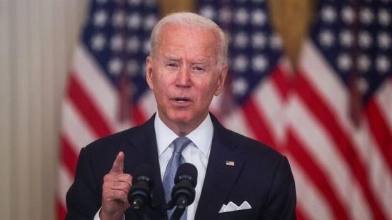Joe Biden will make an address on the Afghanistan situation. (REUTERS)