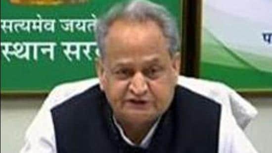 Rajasthan chief minister Ashok Gehlot. (File photo)
