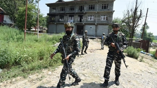 J-K police said a search operation is on in Jammu and Kashmir's Tral area. (File Photo)