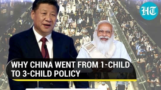 China's one-child policy, introduced in the 1970s, was diluted in 2016, and has been updated again in 2021 (Agencies)