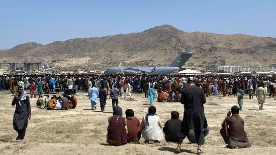 Afghans have been crowding the Kabul airport in a desperate dash to flee the country after the Taliban took over. (AP Photo)