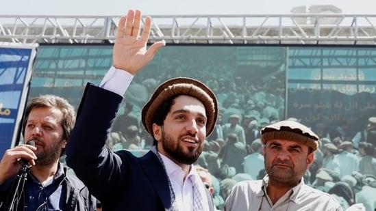 Ahmad Massoud, son of Afghanistan's slain anti-Soviet resistance hero Ahmad Shah Massoud, is seen in Bazarak of Panjshir province in this file photo.(Reuters Photo)