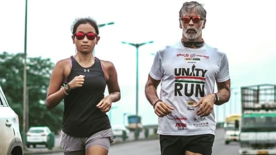 Ankita Konwar on '7 days of highway runs' to Statue of Unity with Milind Soman: Experience of a lifetime(Instagram/@ankita_earthy)