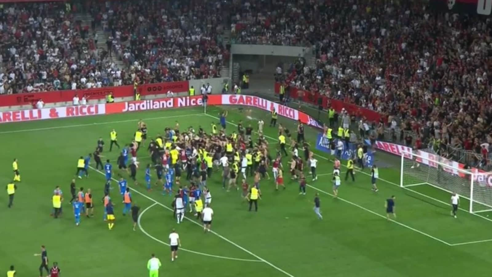 French League's Nice-Marseille Game was Abandoned after Violence: School Megamart 2021