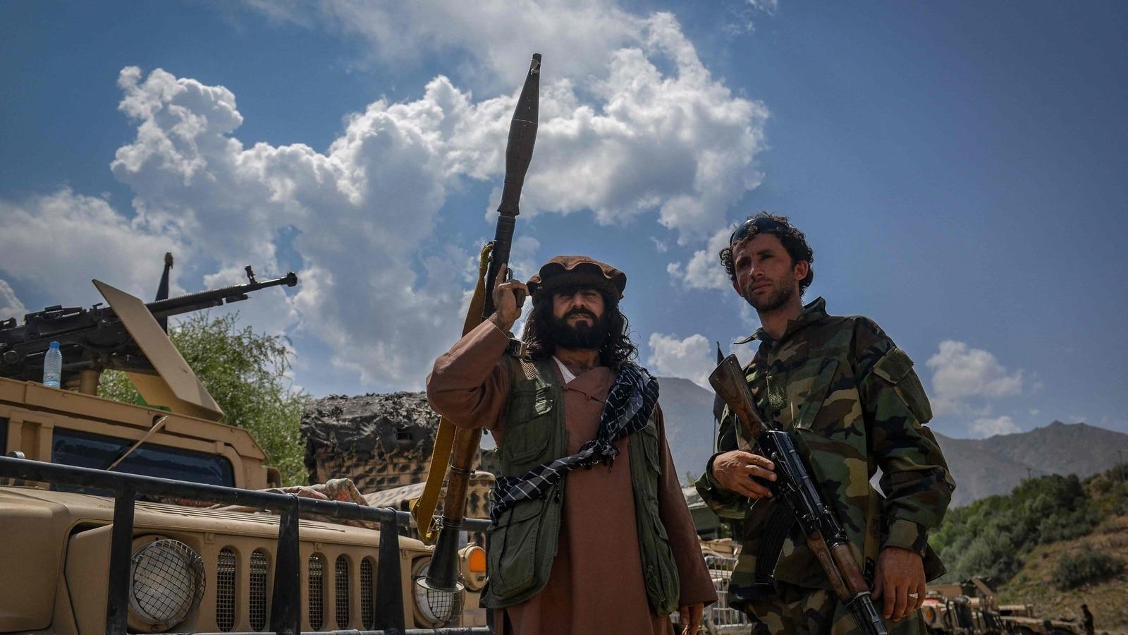 Gunfire breaks out at airport, Taliban eye Panjshir capture   World News - Hindustan Times