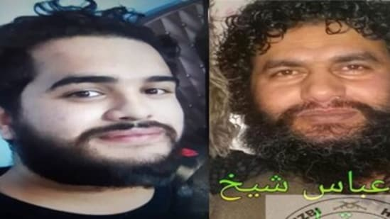 Mohd Abbas Sheikh (R) and Saqib Manzoor Dar (L) were shot down by the police on Monday.(Sourced)