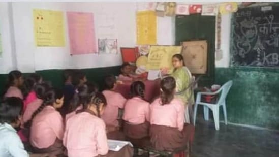 The registration process for the DSE teachers recruitment 2021 begins on August 23, 2021. (HT File Photo)