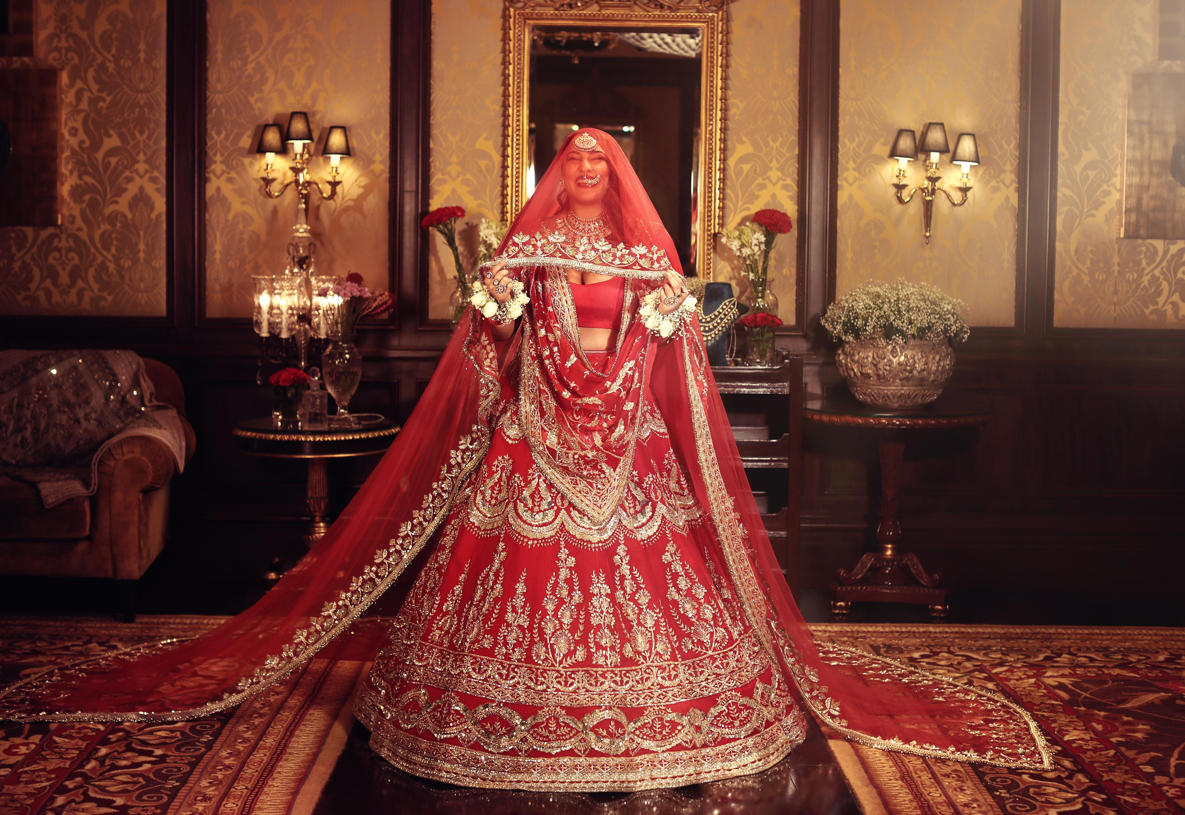 The fun bride