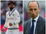 'England supporters won't like Virat Kohli but he doesn't care a jot about that': Nasser Hussain on India captain ahead of third Test(Agencies/HT Collage)