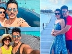 After wrapping up with the shooting of Indian Idol 12, Aditya Narayan and his wife Shweta Agarwal packed their bags and left for the Maldives. Aditya Narayan and his wife Shweta Agarwal share an unconditional love for travelling. They earlier flooded their Instagram handles with photos from their Jammu and Kashmir trip. The couple is now treating their fans with stills from their Maldives vacation. Check out all the snaps from their beach stay here.(Instagram)