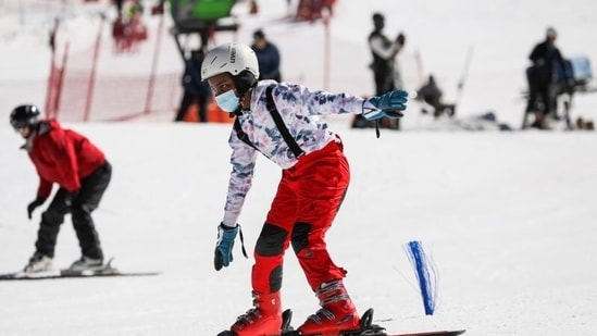 Skiing in Africa? Tourists hit snow-covered Lesotho slopes despite Covid-19 woes(Reuters)