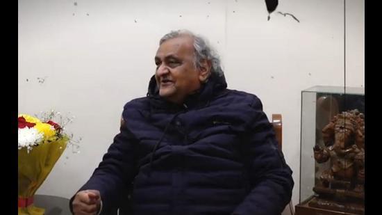 Dr Pyare Lal Garg, adviser to Punjab Congress president Navjot Singh Sidhu.