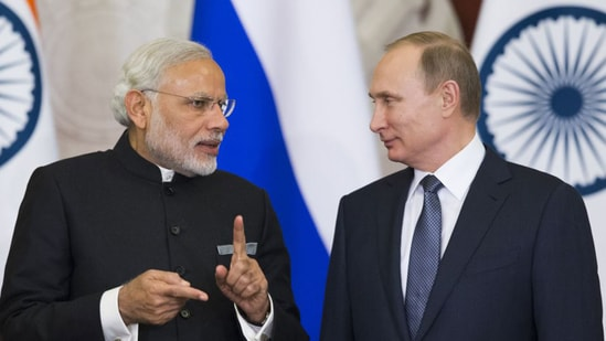 Apart from Afghanistan, the two leaders also spoke India-Russia cooperation against the coronavirus disease. (File photo)