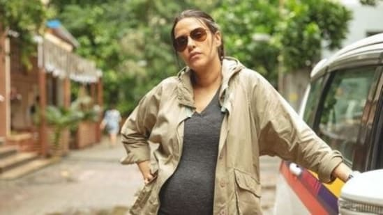 Neha Dhupia shared pictures of her look in the film on Instagram.