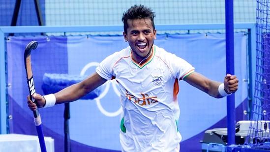 Indian hockey player Vivek Sagar Prasad(PTI)