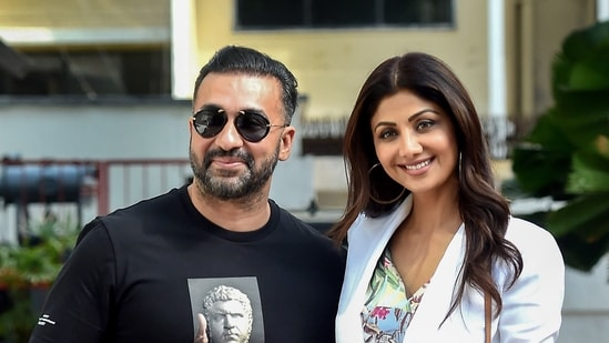 Raj Kundra, who was arrested in July, is currently lodged in prison in another case pertaining to the production and distribution of pornographic materials through mobile apps. (PTI Photo)