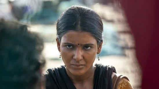 Samantha Akkineni in The Family Man 2.