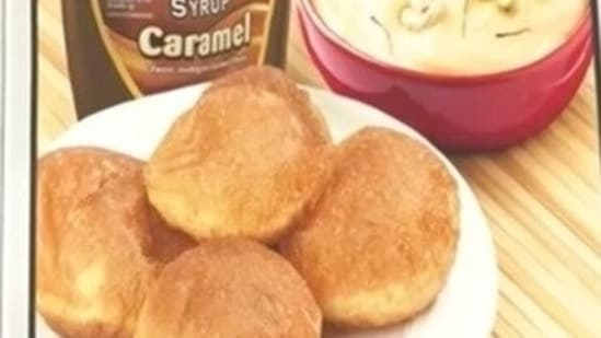 Chocolate Puri and Caramel Shrikhand(Hershey's India)