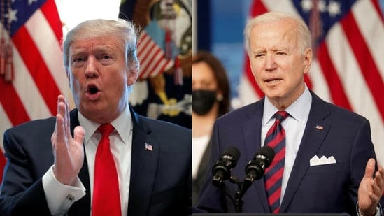 Former US president Donald Trump slammed the Biden administration's Afghanistan policy. (File Photo)