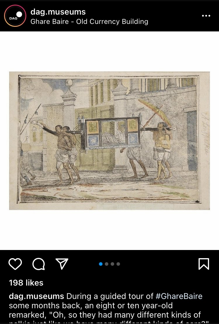 With a loyal fan base, Ghare Baire, a museum-exhibition commissioned by the Ministry of Culture and curated and organised by DAG, has been extensively using their Instagram handle to reach out to enthusiasts amid the pandemic.