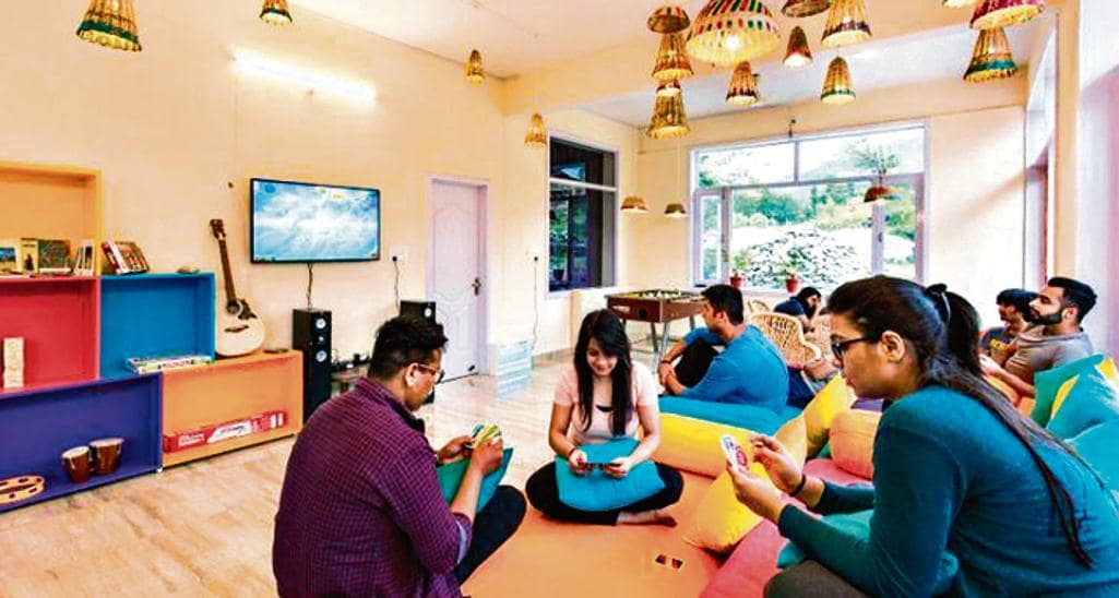 Backpacker hostels also have common areas with a plethora of activities to engage in