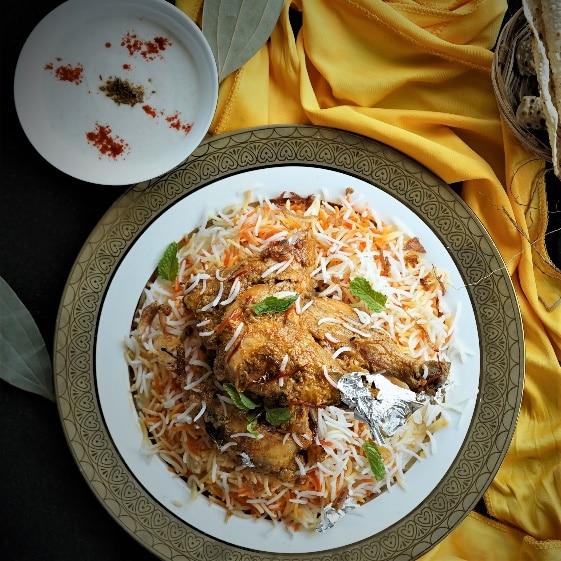 Bhatti Da Murgh Biryani(Chef Gautam Mehrishi, Renaissance Mumbai Convention Centre Hotel)