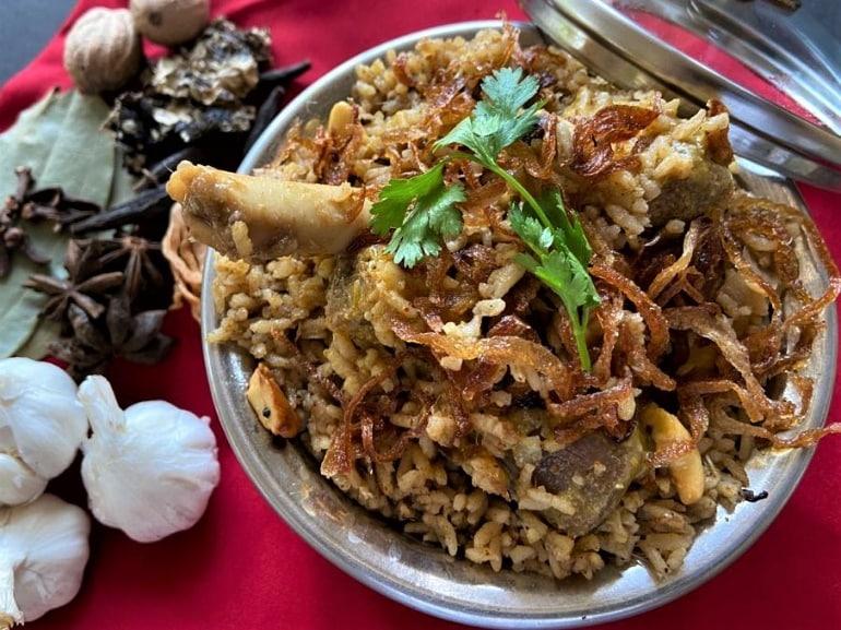Madurai Mutton Biryani(Chef Soma Sundaram, Courtyard by Marriott Madurai)